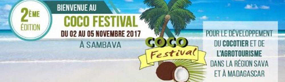 Sambava Madagascar Coco Festival Affiche