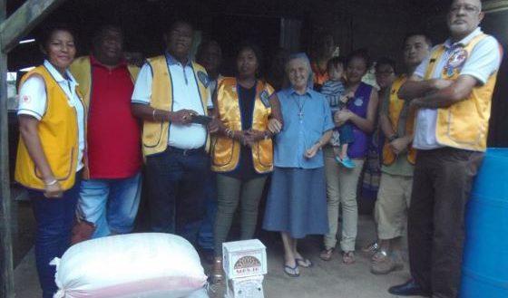 ENAWO Sambava Lions Club Marnolat Rajaonina