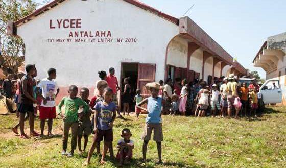 ENAWO Antalaha Lycée mixte Raj Hassanaly SNU