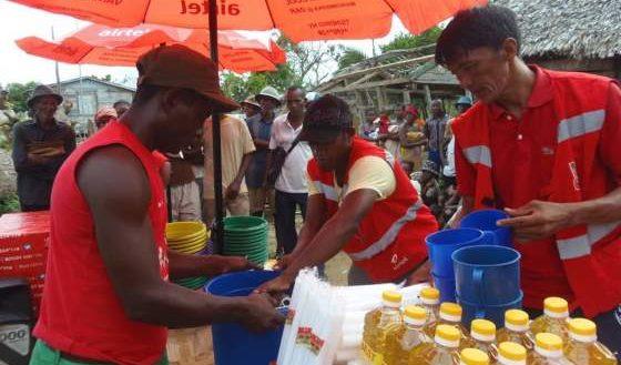 ENAWO Sambava distribution de PPN Marnolat Rajaonina