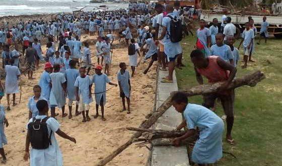 ENAWO Antalaha Assainissement Plage BNGRC