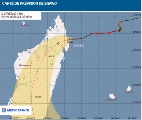 Cyclone Enawo Madagascar 07 mars 2017