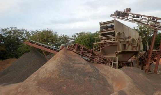 Madagascar Sambava Carrière matériaux construction