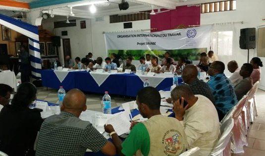 Madagascar Sambava Région Sava Protection des enfants.