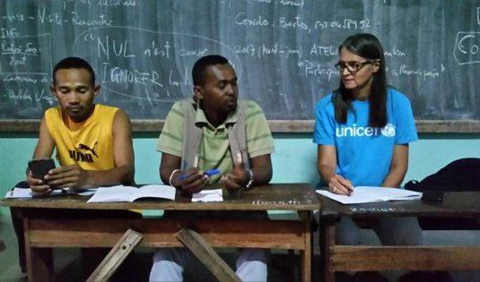 Sambava Madagascar Table ronde protection des enfants