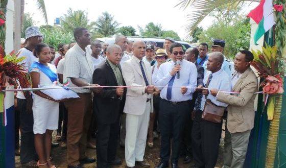 Sambava Inauguration abattoirs
