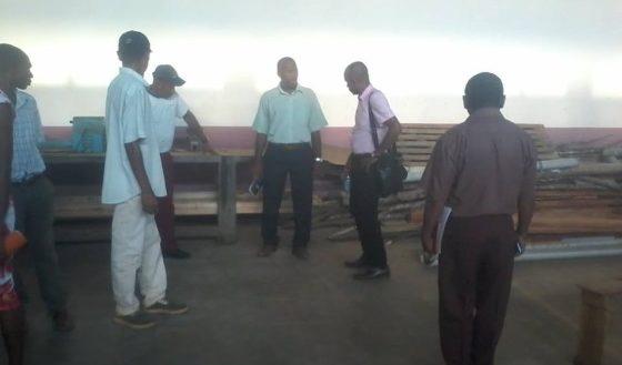 Lycée technique Sambava Réunion travail et visite atelier